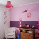 idée déco chambre fille violet