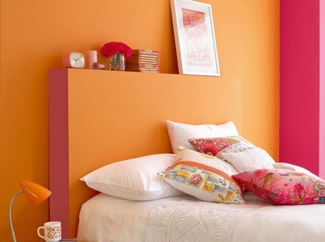 Idee Deco Chambre Orange