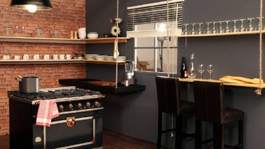 Style id e d co cuisine new york for Idee deco cuisine new york