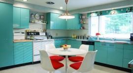 idée déco cuisine turquoise
