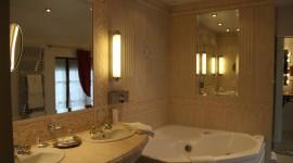idée déco salle de bain beige