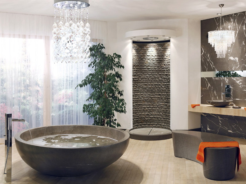 jolie idée déco salle de bain design