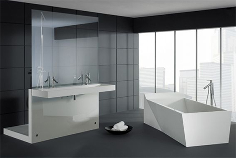 Mod le id e d co salle de bain design for Idee deco salle de bain design