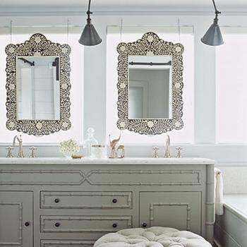 Nouvelle id e d co salle de bain gris et blanc for Deco salle de bain gris et blanc