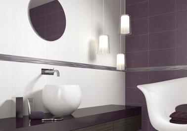 Mod le id e d co salle de bain prune for Salle de bain modele deco