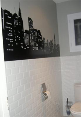 Beau Idée Déco Wc   Toilettes New York