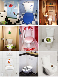 Id e d co wc toilettes orientale - Idees deco toilettes photos ...