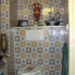 idée déco wc - toilettes orientale
