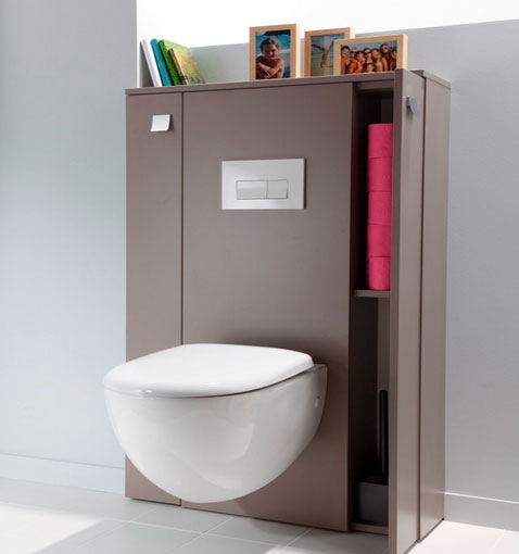 Style id e d co wc toilettes prune - Idee deco wc geschorst ...