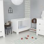 ambiance chambre bébé gris