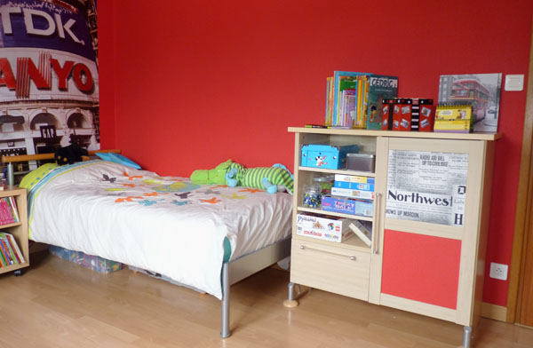Guide ambiance chambre b b rouge for Ambiance chambre enfant