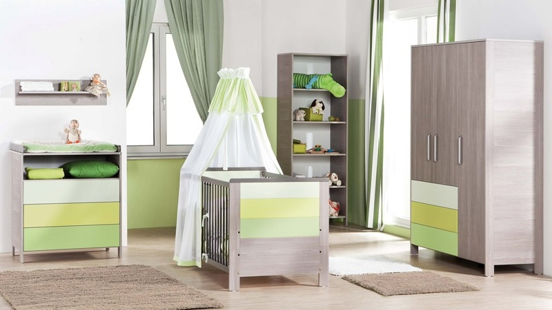 ambiance chambre b b vert. Black Bedroom Furniture Sets. Home Design Ideas