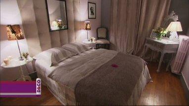Photo ambiance chambre beige for Deco chambre romantique beige
