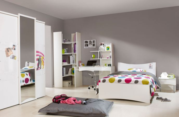 jolie ambiance chambre fille design. Black Bedroom Furniture Sets. Home Design Ideas