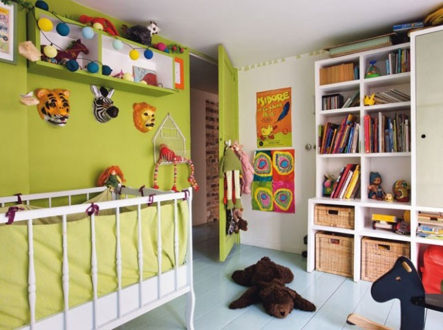 Nouvelle ambiance chambre gar on gris et violet - Ambiance chambre garcon ...