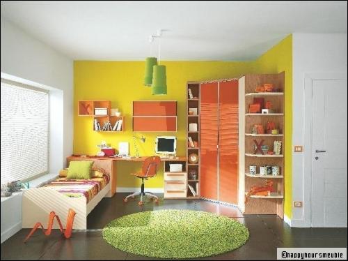 Chambre garcon jaune id es de d coration et de mobilier pour la conception de la maison - Ambiance chambre garcon ...