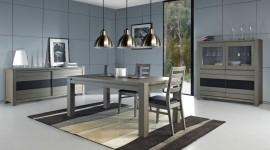 ambiance salle à manger gris