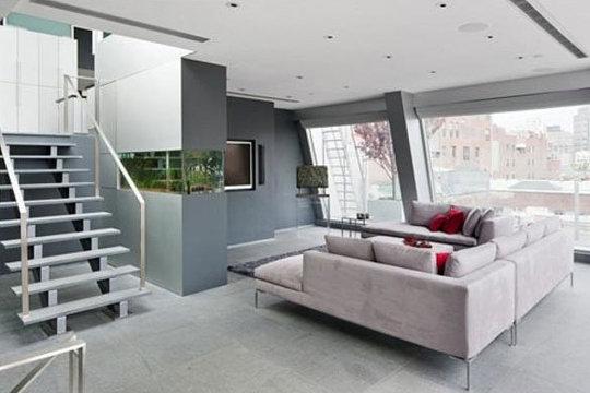 Mod le ambiance salon design for Deco sympa maison