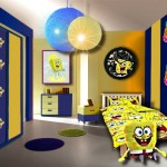 déco chambre garçon jaune