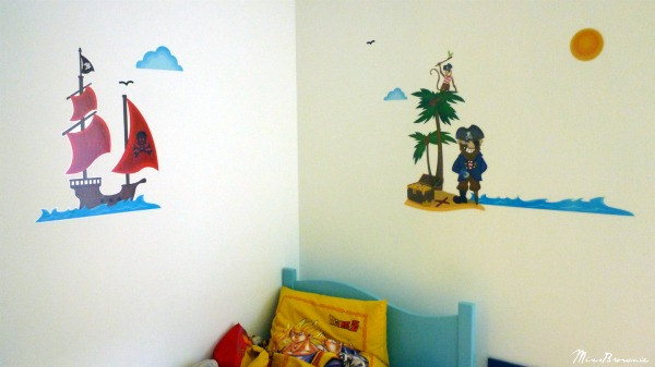 D co chambre gar on stickers - Stickers deco chambre garcon ...