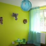 déco chambre garçon vert