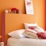 déco chambre orange