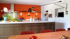 déco cuisine orange