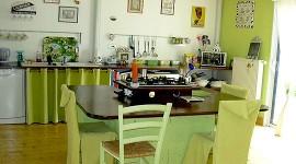 déco cuisine vert