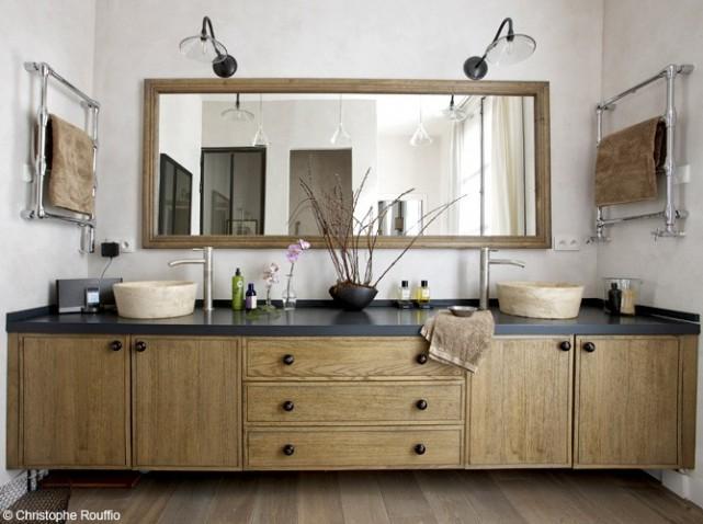 Nouvelle d co salle de bain industriel for Salle de bain art deco