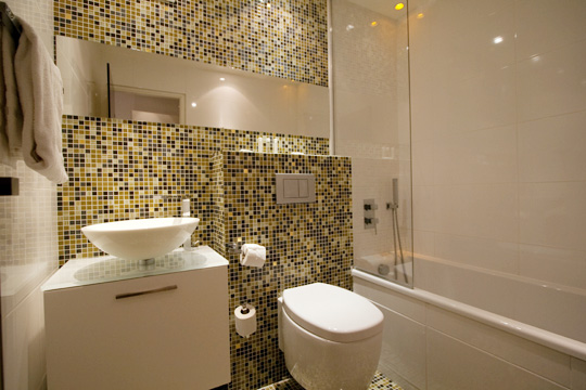 Inspiration d co salle de bain kaki for Inspiration salle de bain