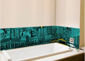 déco salle de bain new york