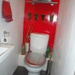 déco wc - toilettes blanc