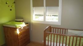 décoration chambre bébé taupe