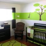 décoration chambre fille marron
