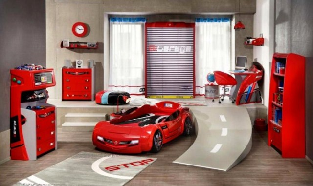 Beautiful Chambre Rouge Et Blanc Garcon Pictures - Design Trends ...