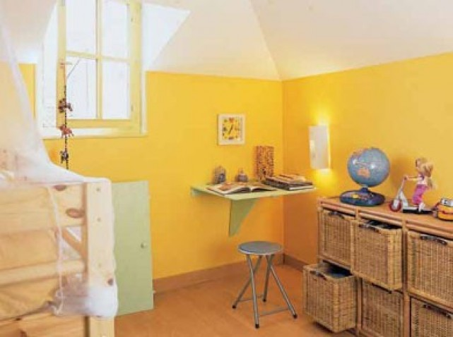 Quelle d coration chambre gar on jaune for Decoration maison jaune