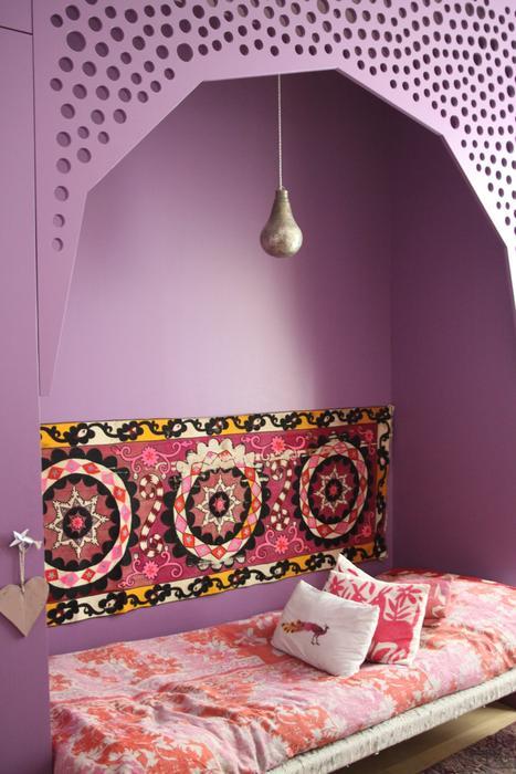 Mod le d coration chambre gar on orientale for Modele decoration chambre