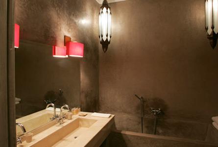 décoration salle de bain ethnique