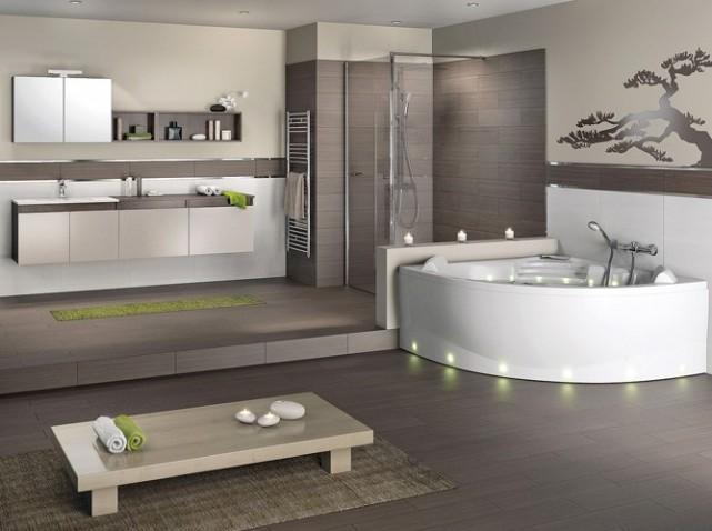 Inspiration d coration salle de bain zen for Salle bain decoration