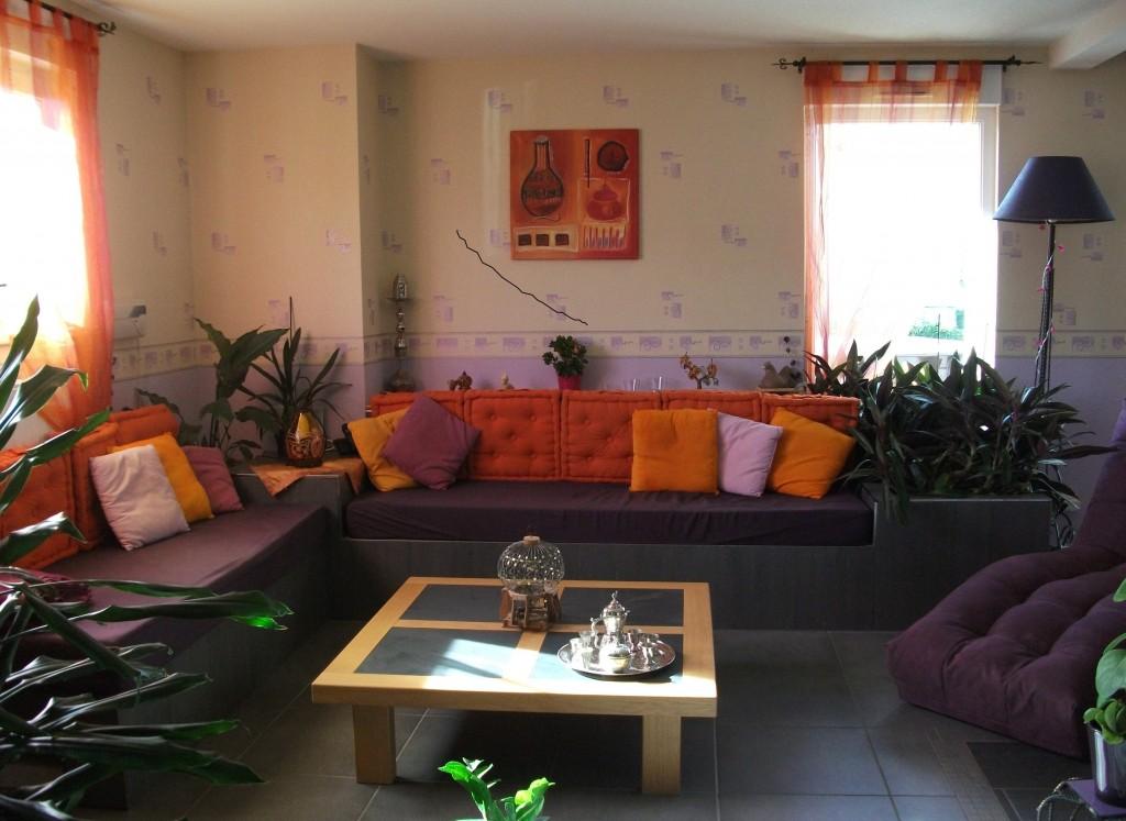 décoration salon orientale