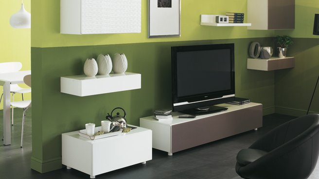 conseil d coration salon vert. Black Bedroom Furniture Sets. Home Design Ideas
