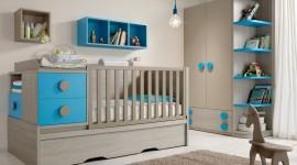 idée déco chambre bébé moderne