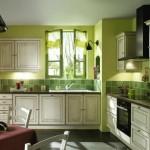 idée déco cuisine vert
