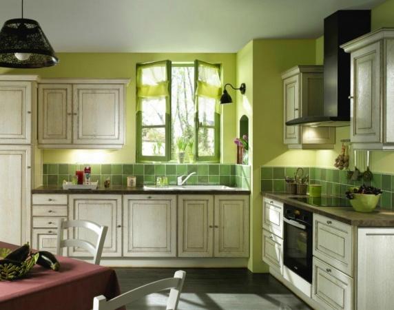 Nouvelle id e d co cuisine vert - Deco cuisine vert ...