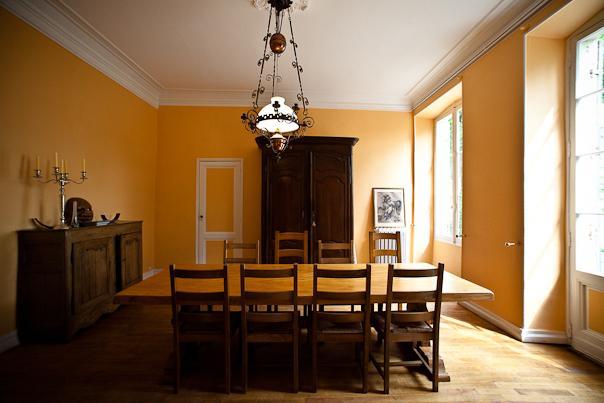 id e d co salle manger jaune. Black Bedroom Furniture Sets. Home Design Ideas
