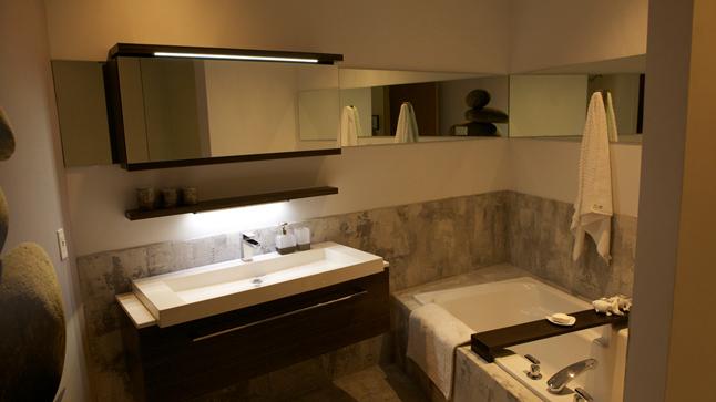 Id e d co salle de bain tendance - Idee salle de bain deco ...