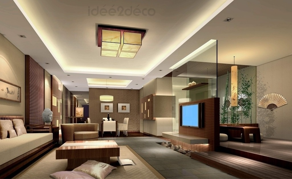 Photo id e d co salon zen for Idee deco sejour salon