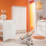 ambiance chambre garçon orange