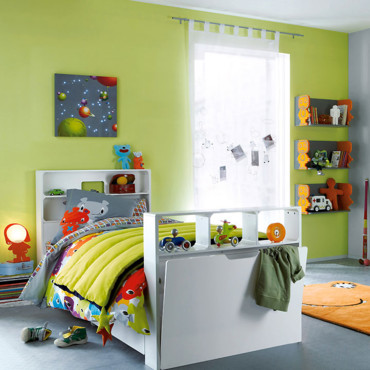 Quelle ambiance chambre gar on orange - Ambiance chambre bebe garcon ...