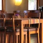 ambiance salle à manger jaune